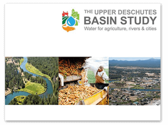 Latest Upper Deschutes Basin Study Information